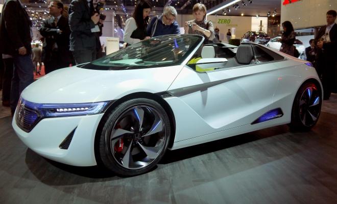 Honda EV-Ster concept at Geneva Motor Show 2012