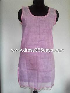 Baby Pink Cotton Slip
