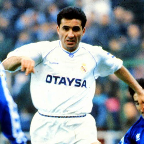 Gheorghe Hagi poze Real Madrid foto