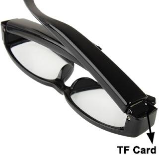spy cam occhiali