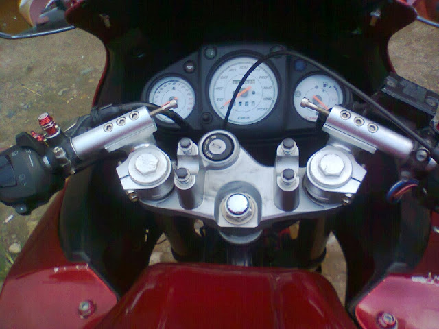 Modifikasi Byson Full Fairing Ninja 250R