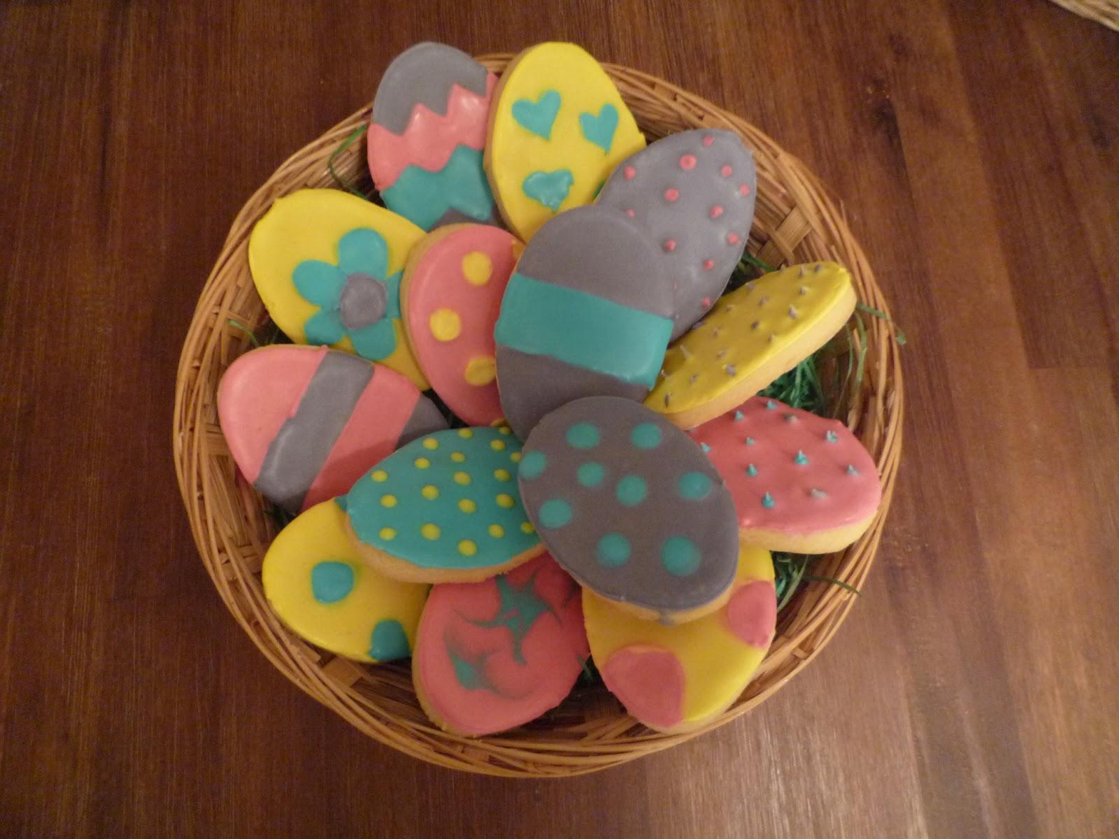 Osterei-Kekse, Ostereikekse, Kekse, Osterkekse, Oster-Kekse, Royal Icing