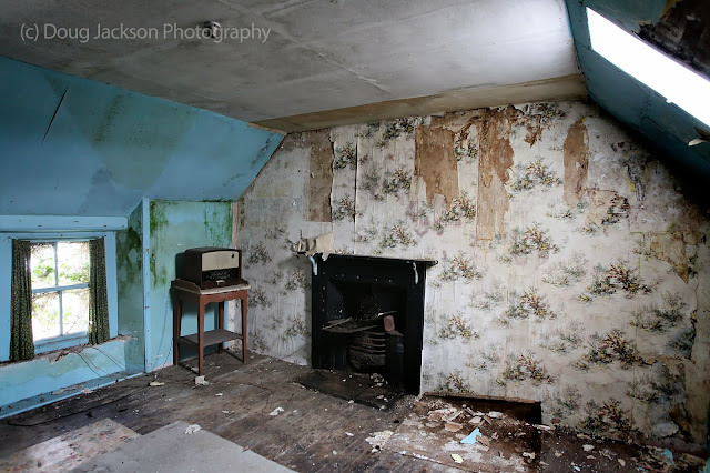 Abandoned youth hostel