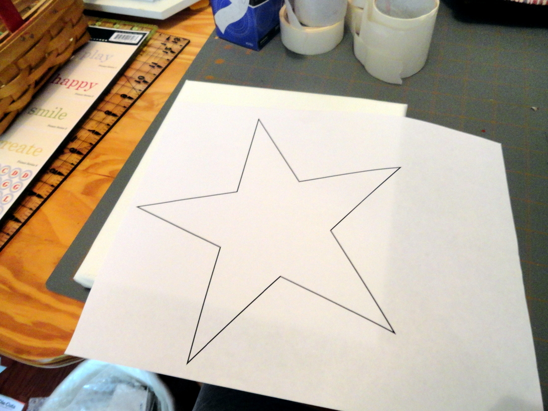 Star Shapes To Cut Out You need to cut out your shape