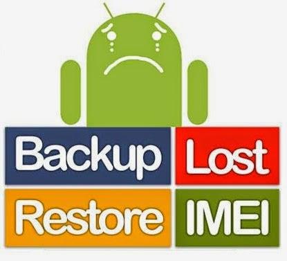 Backup lost - Restore Imei