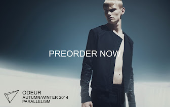 ODEUR AUTUMN/ WINTER 2014 - PREORDER NOW!