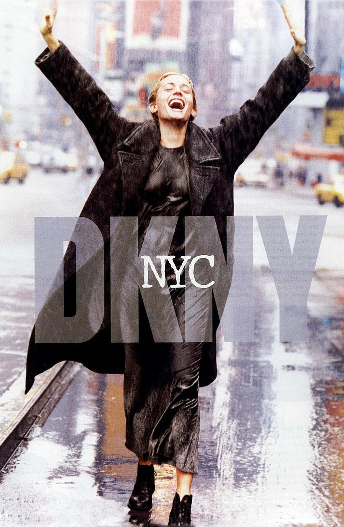 Beri Smither photographed by Peter Lindbergh for DKNY 1994 campaign / Donna Karan quotes / via fashioned by love british fashion blog
