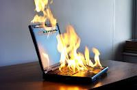 Laptop Kepanasan