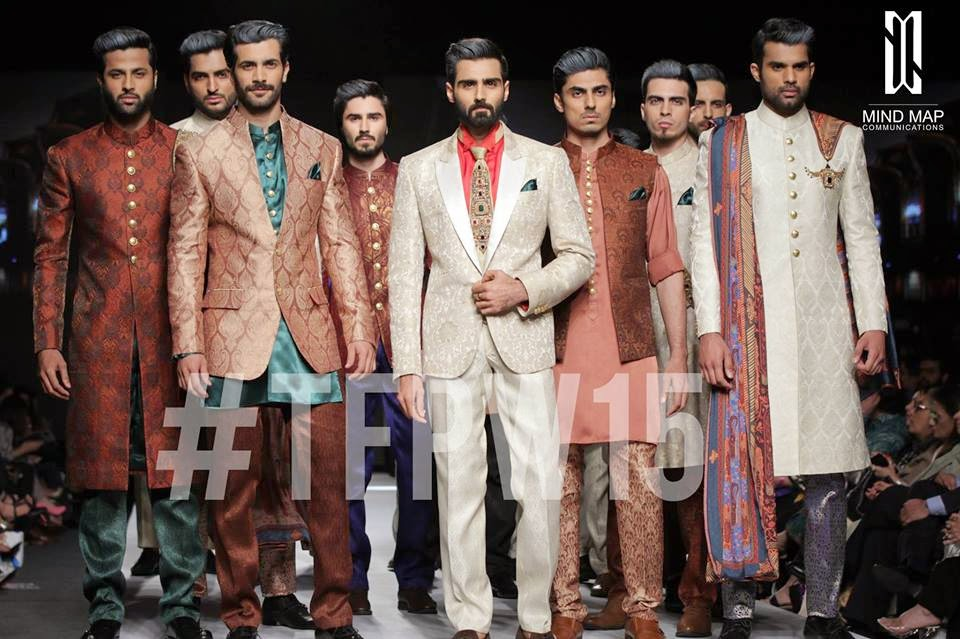 Aamir Adnan Elegant & Trendy Men Dresses 2015