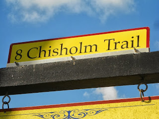chisholm trail marker