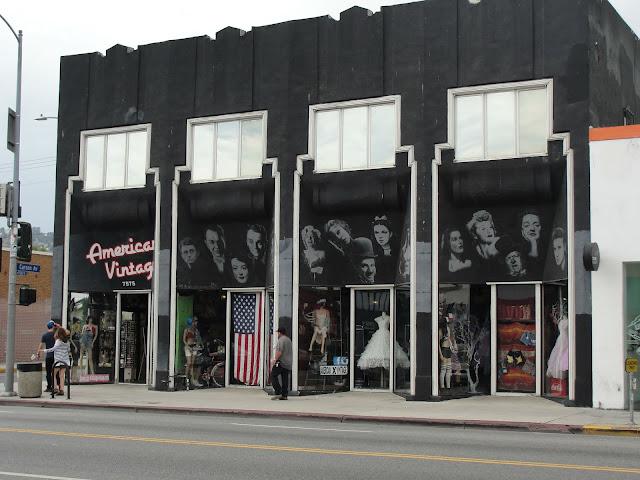 Lo que lleve la rubia: De compras porMelrose Los Angeles