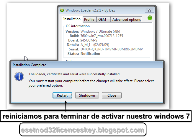 activar windows 7 loader extreme edition v3