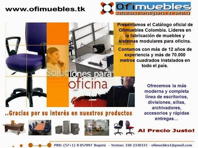 Ofimuebles colombia muebles para oficina nuestra empresa for Muebles de oficina modernos precios