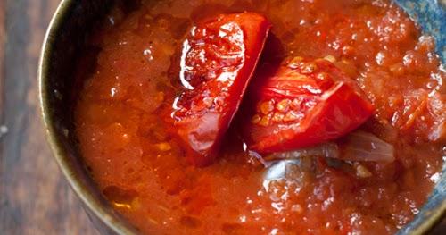موقع الذ وصفات الطبخ: طريقة تحضير شوربة الطماطم المشوية