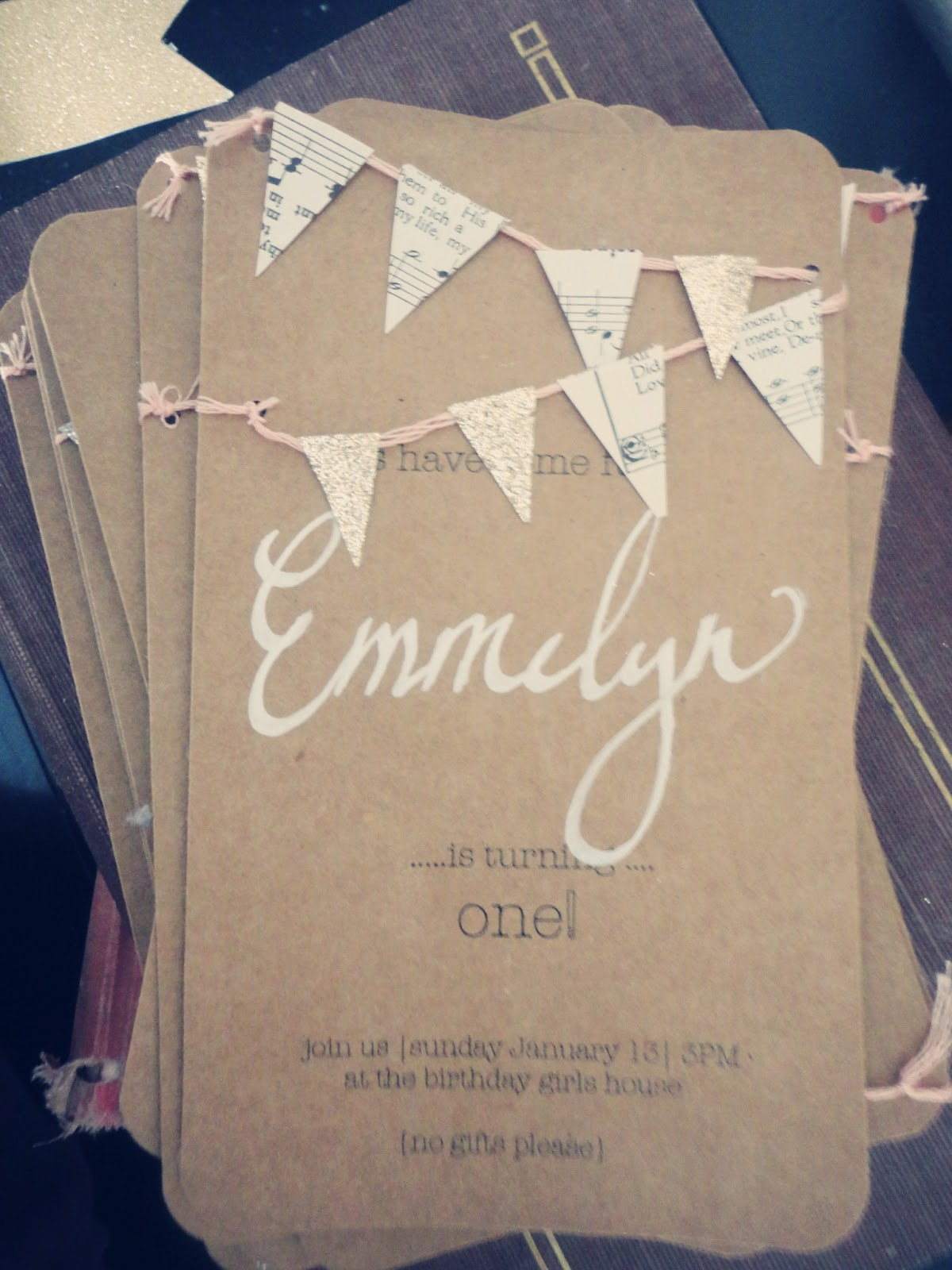 Vintage Whites Blog Whimsical Birthday Invitations