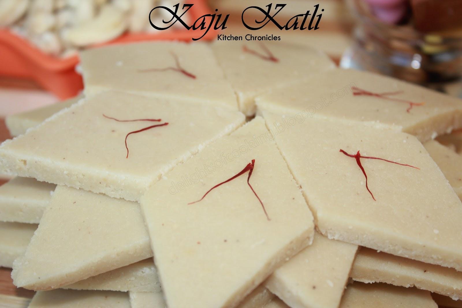 Kitchen Chronicles: Kaju Katli
