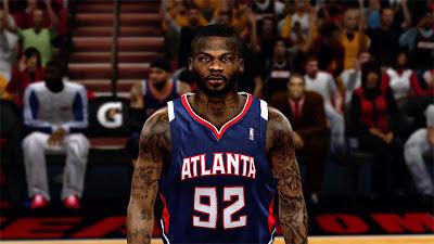 NBA 2K13 DeShawn Stevenson Cyberface Mod