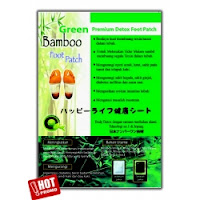 Bamboo Foot Patch Green