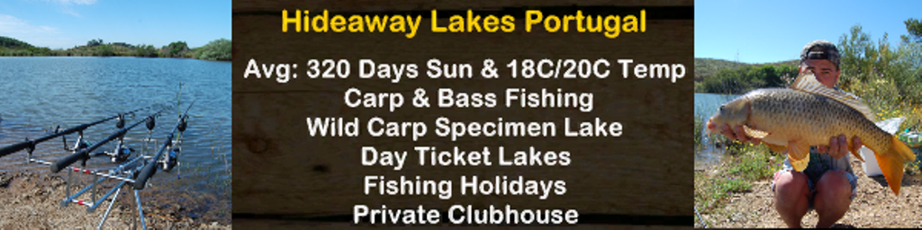 Hideaway Lakes Portugal - Algarve Carp Fishing