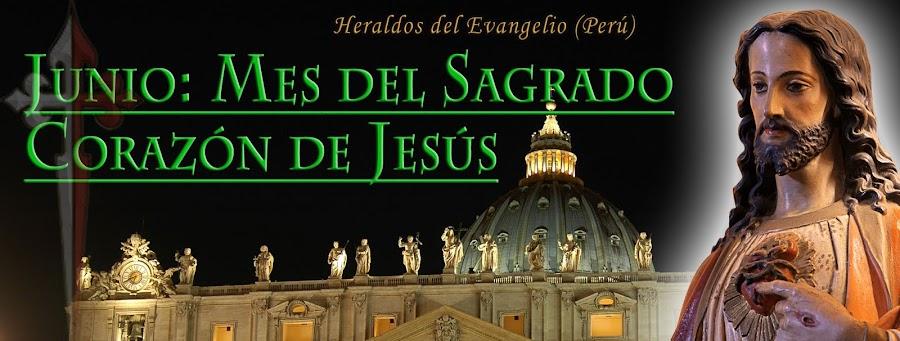 Junio Mes del Sagrado Corazón de Jesús