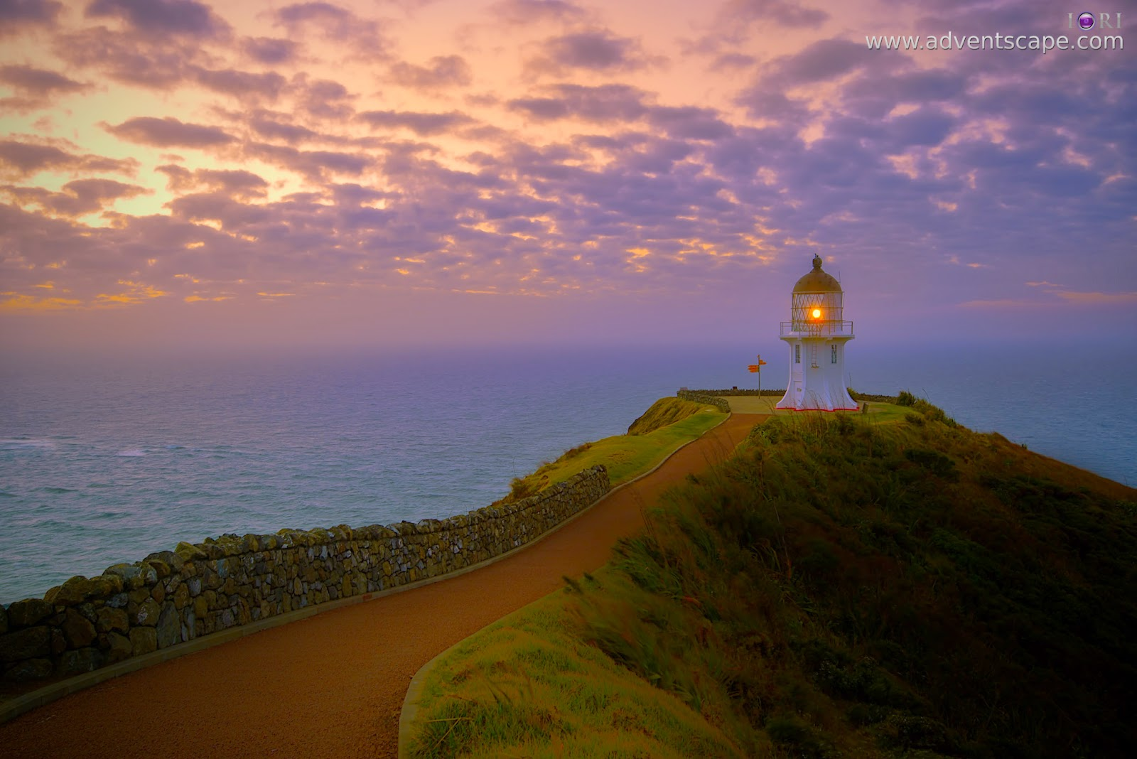 Philip Avellana, iori, adventscape, Cape Reinga, NZ, New Zealand, Te Paki, national park, lighthouse, landscape, seascape, sunset, north island