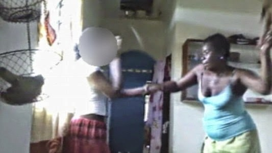 Mum Beats Her Daughter For Posting Semi N De On Facebook