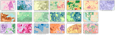 ESRI ArcGIS Online Demographic Maps