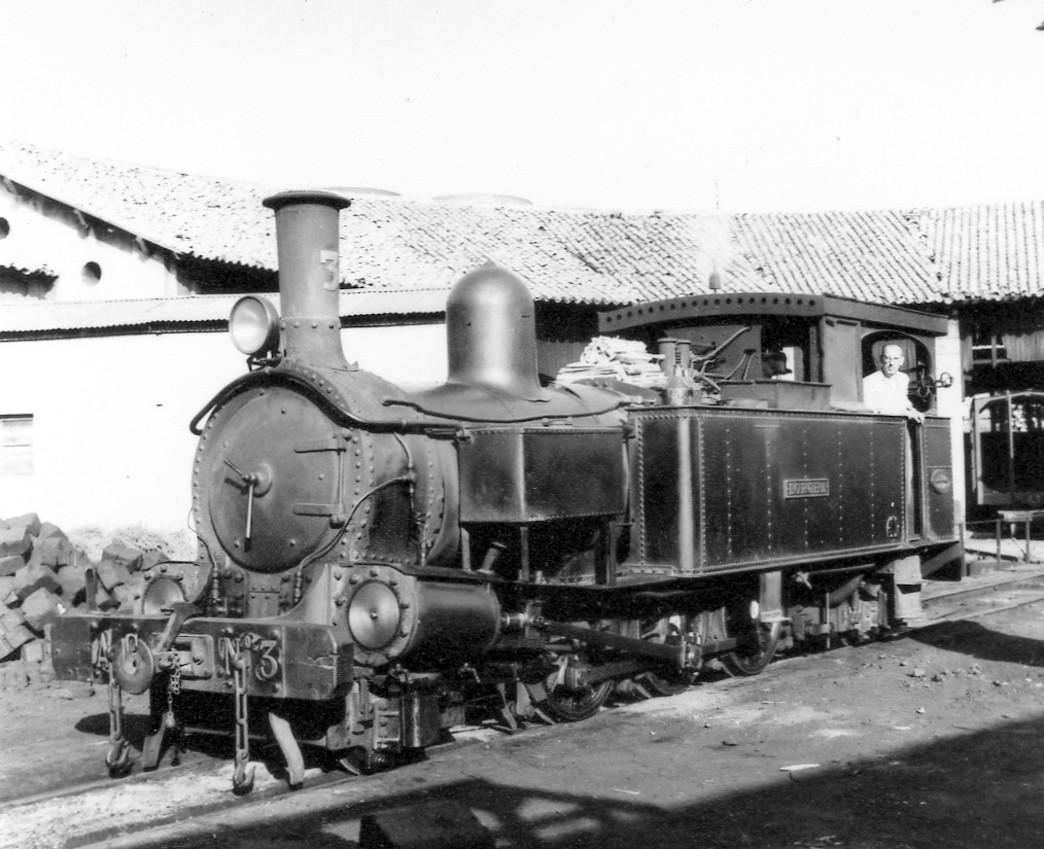 Locomotora número 3 Lorcha