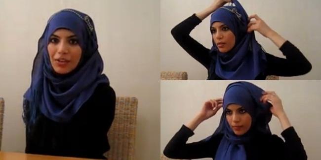 Tutorial Hijab Untuk Sehari-Hari Dengan Bandana