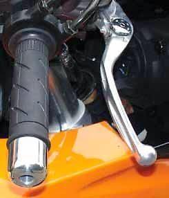 clutch brake adjustable alloy lever levers ybr125