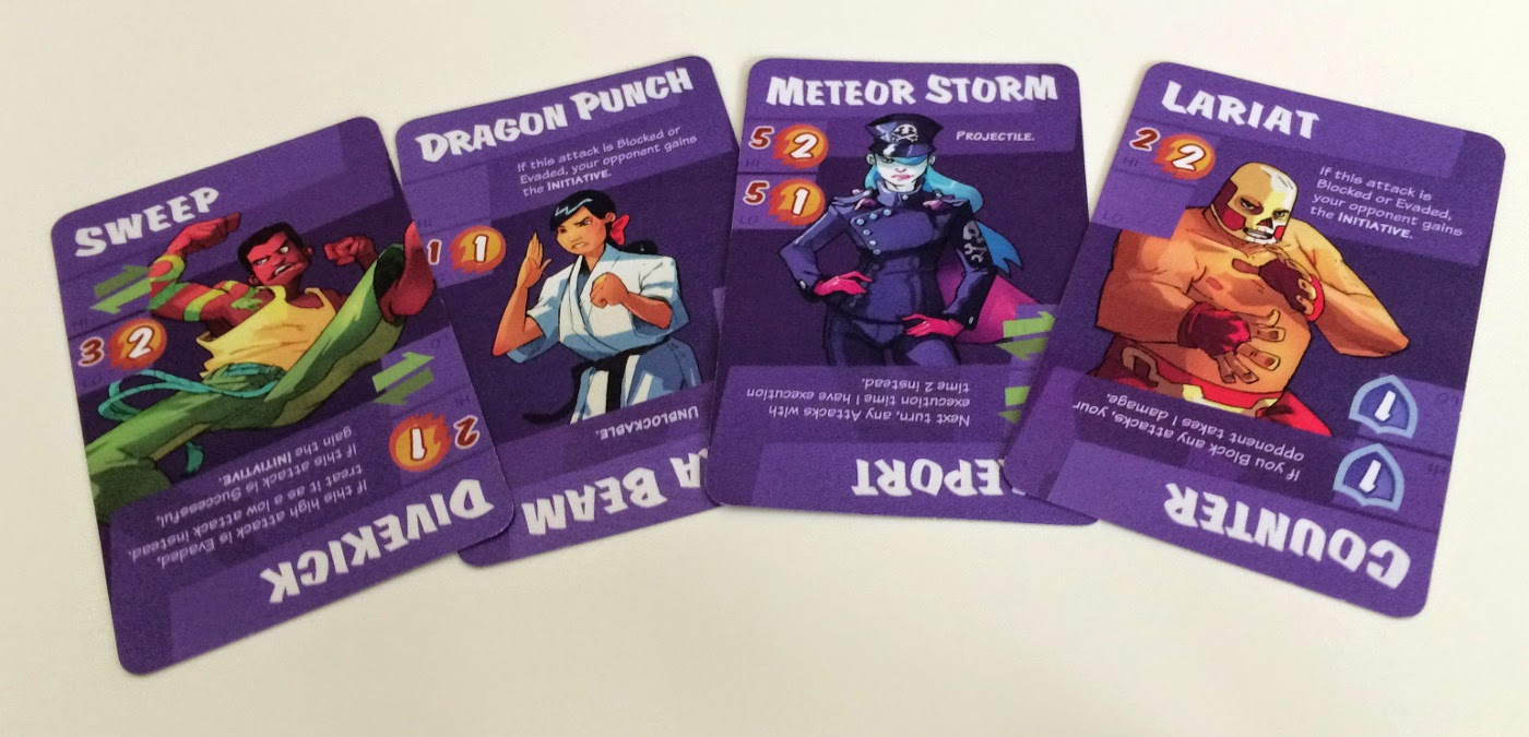 Dragon Punch Kickstarter review special cards