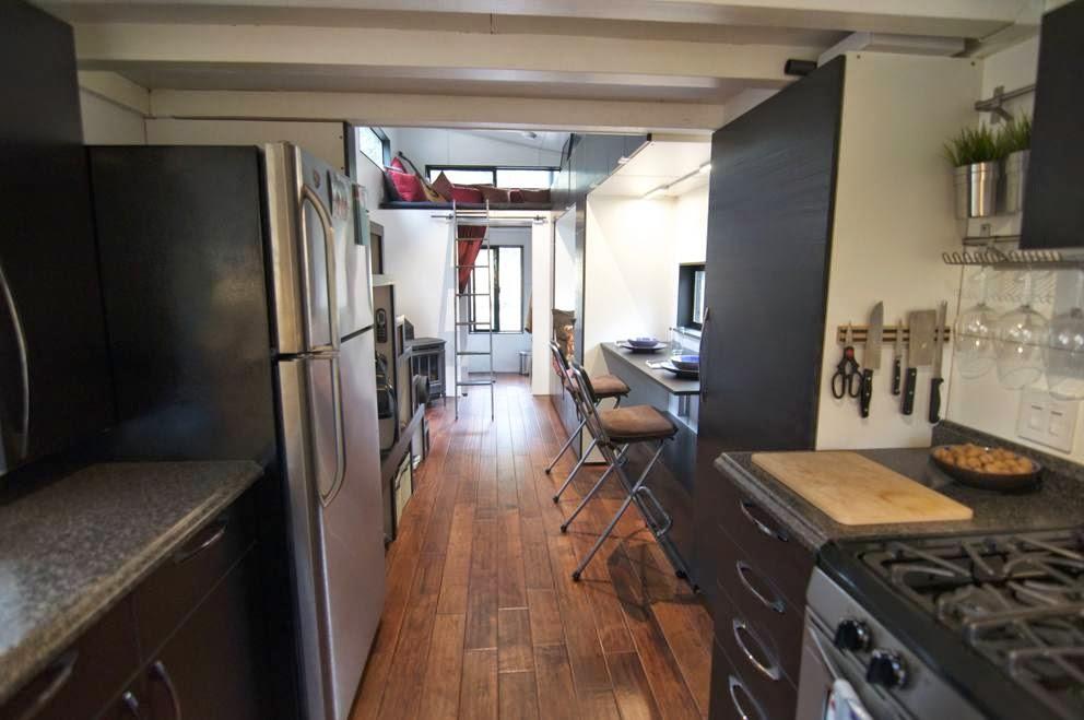 cucina della casa economica