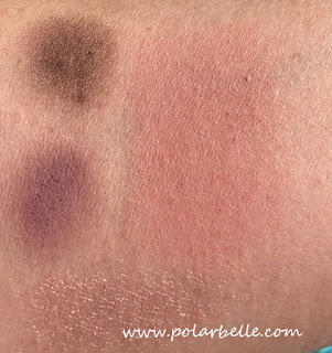 Undressed blush, highlighter, eyeshadow