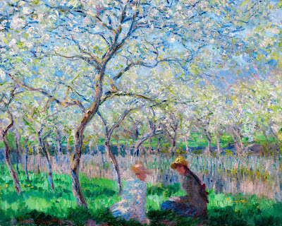 Claude Monet - Le Printemps,1886