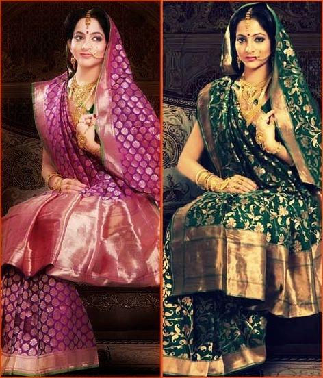 Bengali Brides in Banarasi Saree
