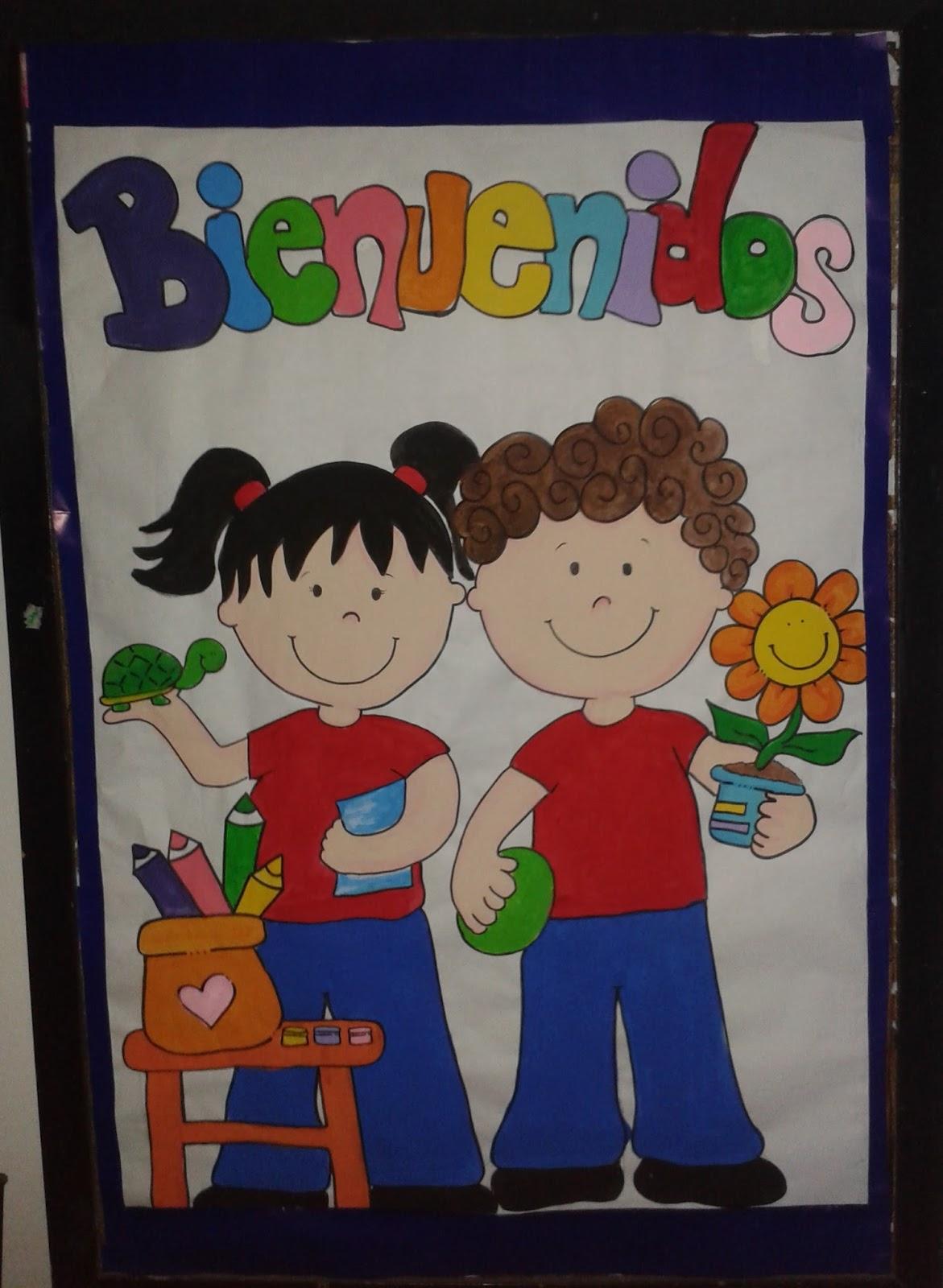 Aventuras preescolares bienvenida al a o escolar 2015 2016 for Cancion de bienvenida al jardin