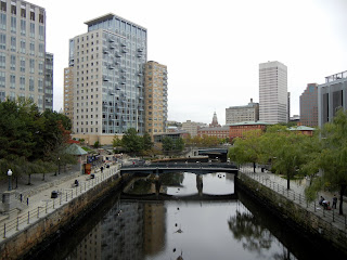 A city view of Providence, Rhode Island