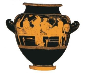 Arte semplice e poi gli stili nei vasi greci e le for Vaso greco antico
