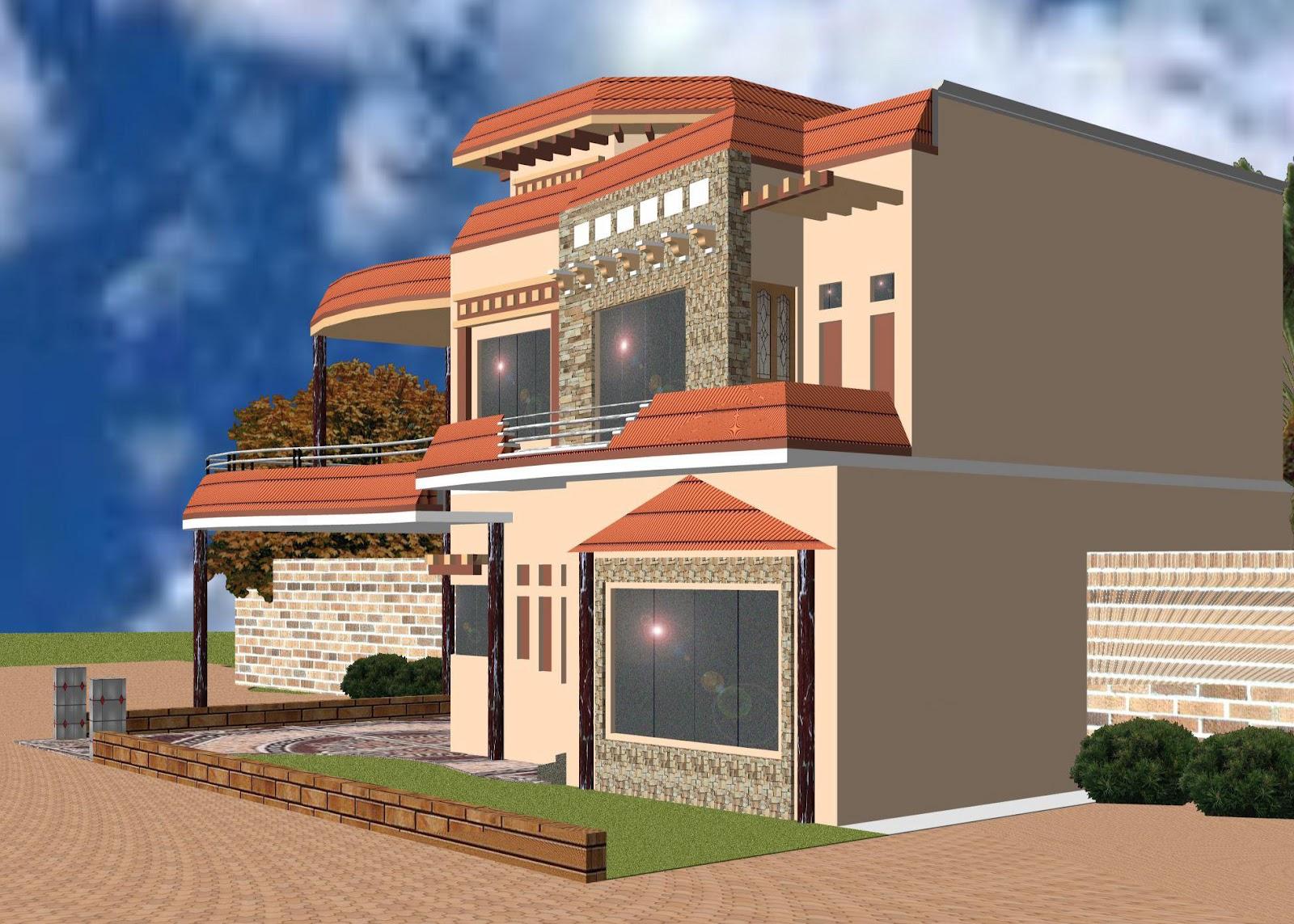 Front Elevation Paint : Paint on front elevation in pakistan joy studio design