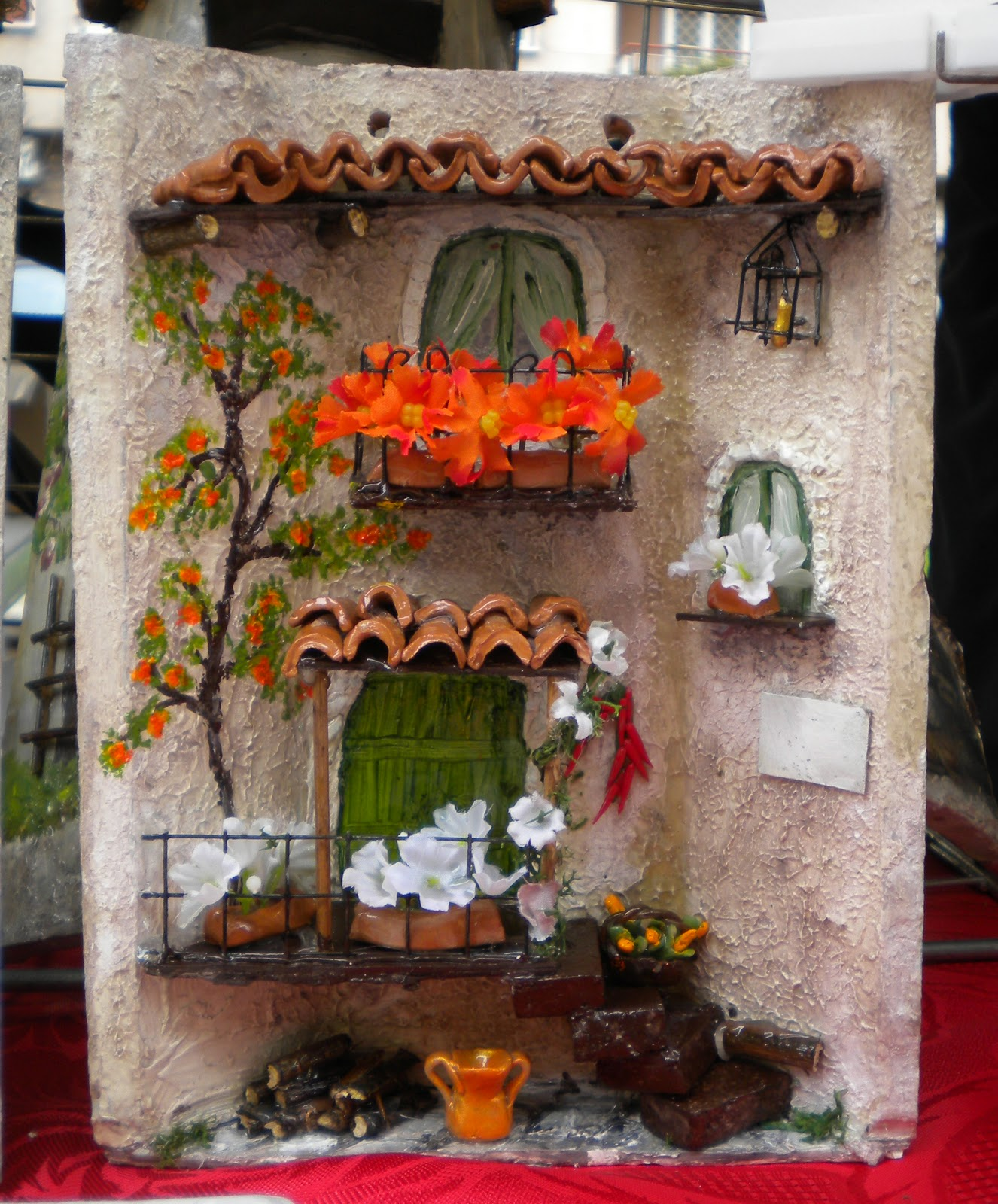 Valent 39 art tegole piccole - Tegole decorate in rilievo ...