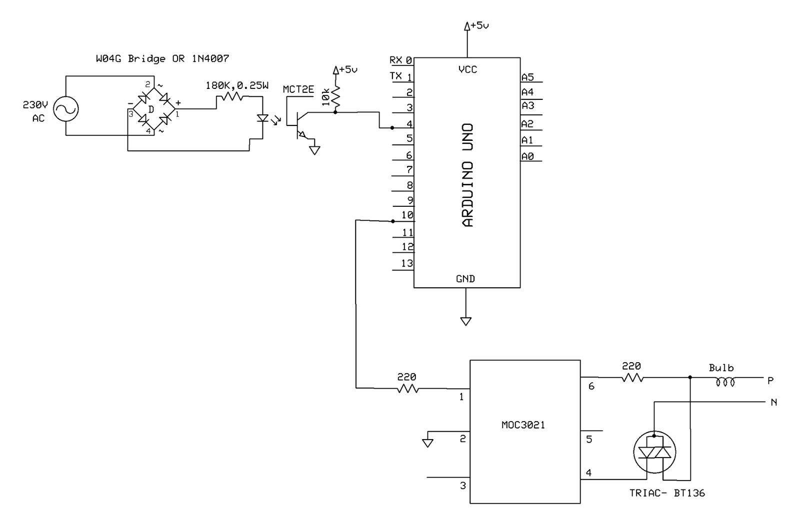 Emerging Technologies Power Control Using Triac And Arduino Solid State Relay Circuit
