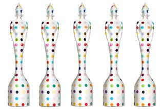 Brits 2013 Polka dot award