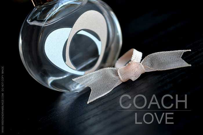 Coach Love Eau de Parfum Womens Perfume Fragrance EDP Review Photos Ingredients Floral Warm