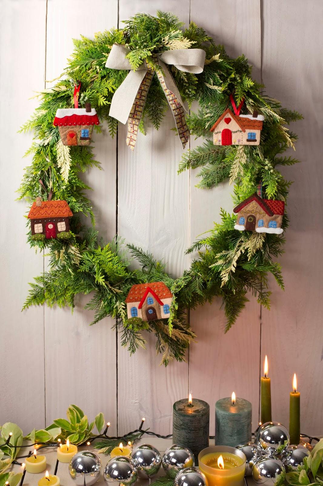 El blog de dmc patrones y diagramas de navidad - Decoraciones para navidad ...