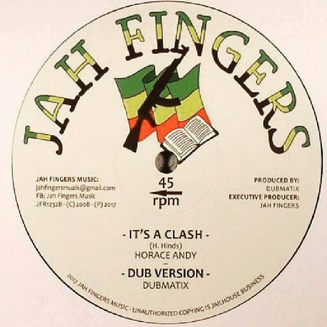 "DUBMATIX  Jah Fingers Records-12""-Peace And Love / Linval Thompson + Its A Clash / Horace Andy"