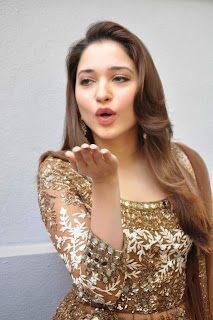 Actress Tamannah Bhatia Picture Gallery in Designer Dress at Bengal Tiger Movie Launch  6.JPG