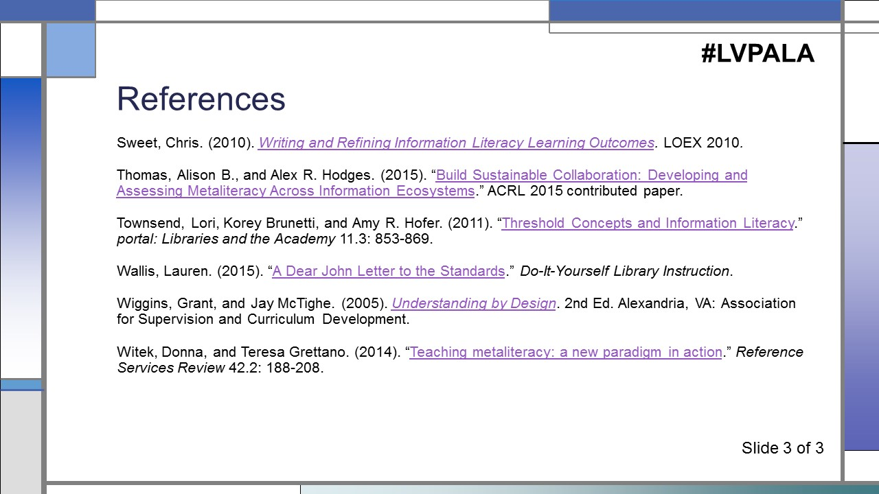 Information constellation flexible frames for pedagogical references clickable aljukfo Gallery