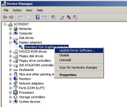 Intel Standard Vga Graphics Adapter Driver Free Download