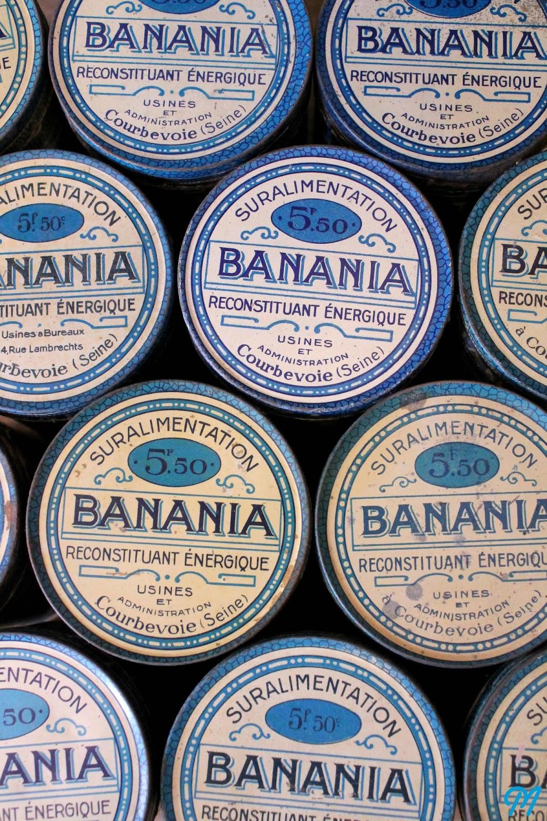boites banania flacons anciens et savons le chat marinette vintage blog. Black Bedroom Furniture Sets. Home Design Ideas