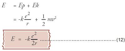 Energi tiap lintasan elektron